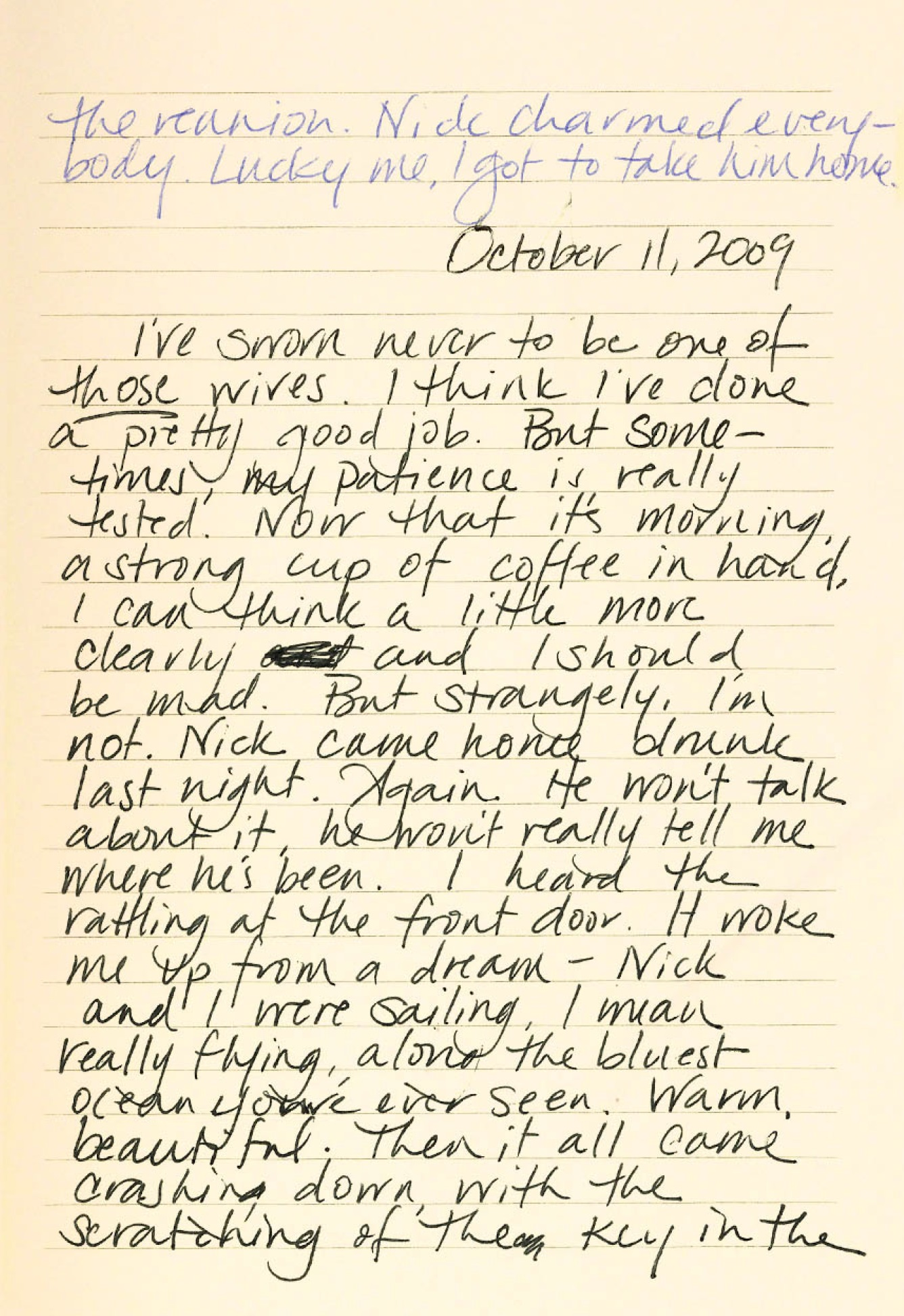Gone Girl Diary Page 3