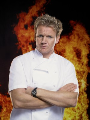 Gordon's on fire! Isn't he always, though