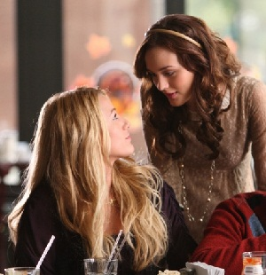 Gossip Girl's Blair and Serena