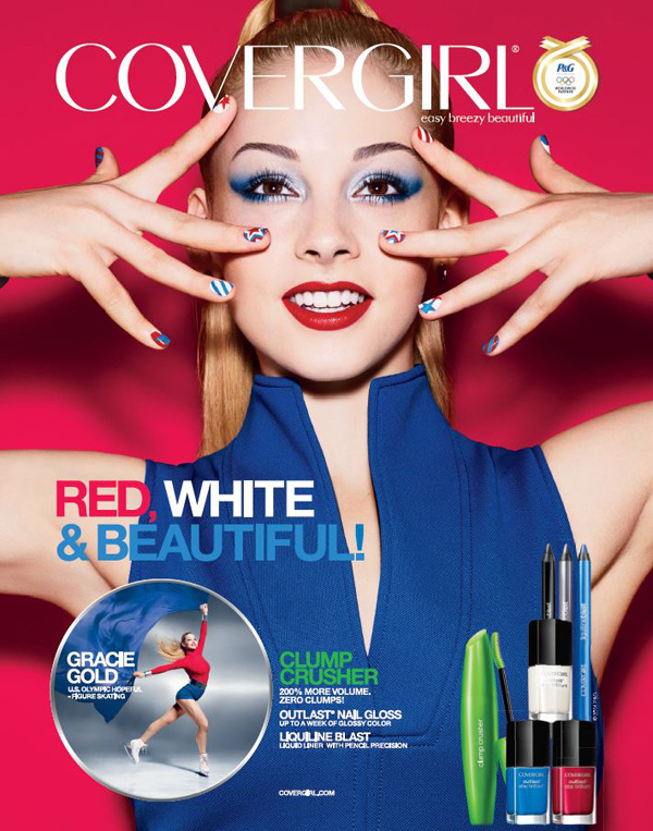 Gracie Gold's CoverGirl ad
