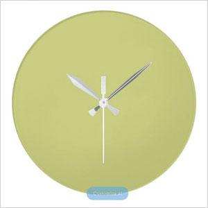 Linden Green Upscale Matching Wall Clock