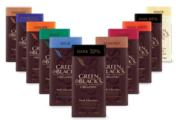 Green and Black Chocolate Bars