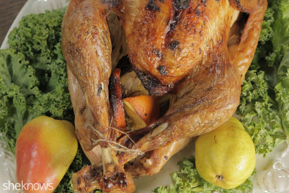 Grill Smoked Turkey