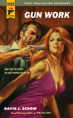 David J Schow brings the pulp in Gun Work