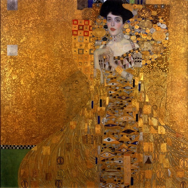 The Woman in Gold by Klimt