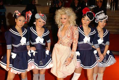 Gwen Stefani and her Harajuku Girls