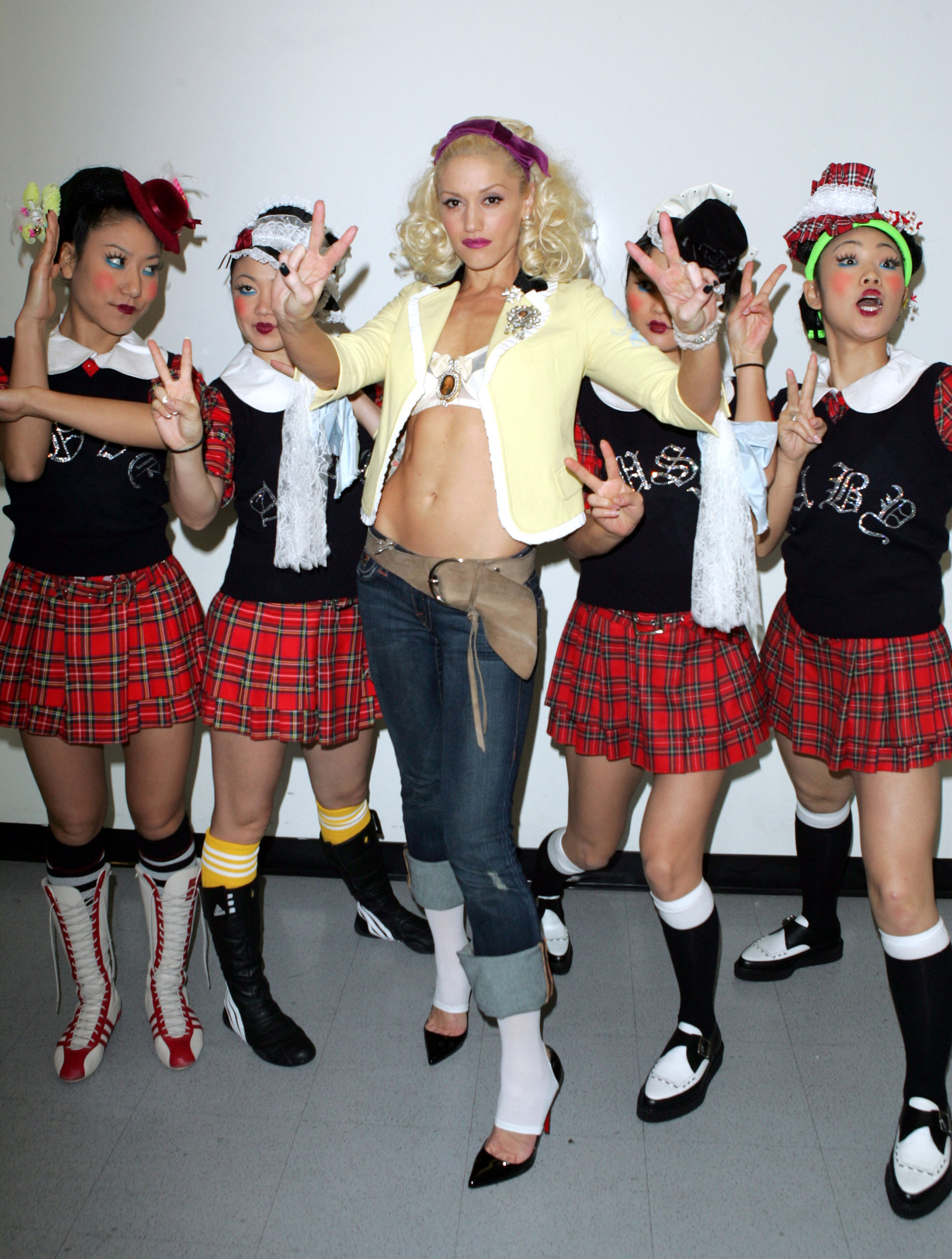 Gwen Stefani: The Harajuku Girls phase 2