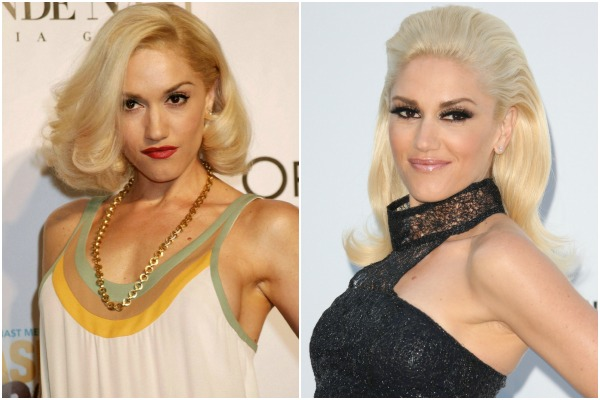 Gwen Stefani and celebrities who wear a hairpiece
