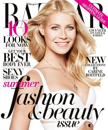 Gwyneth Paltrow Harpers Bazaar 2013