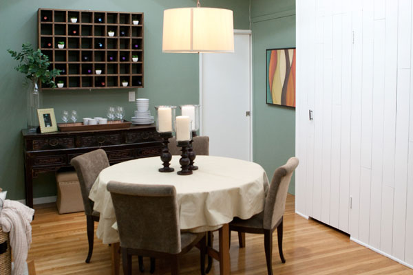 Design Star season 7, episode 4: Dining room designed by Hilari Younger & Mikel Welch
