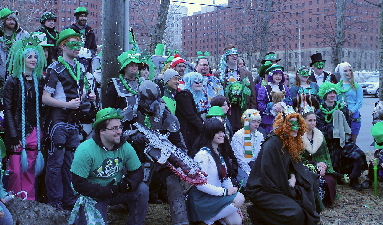 St. Patrick's Day Parade in Halifax