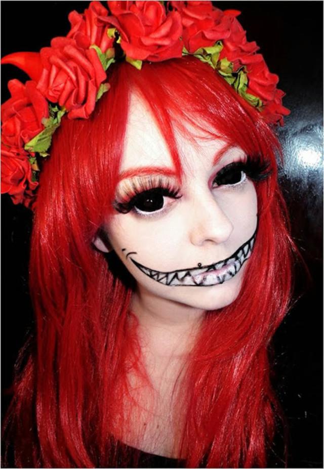 Skeleton on Halloween