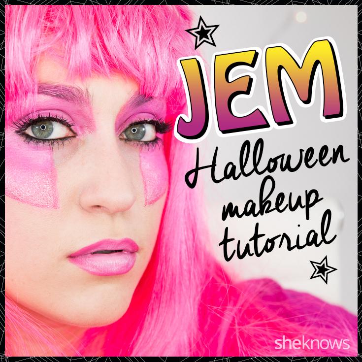 Jem 80s makeup tutorial