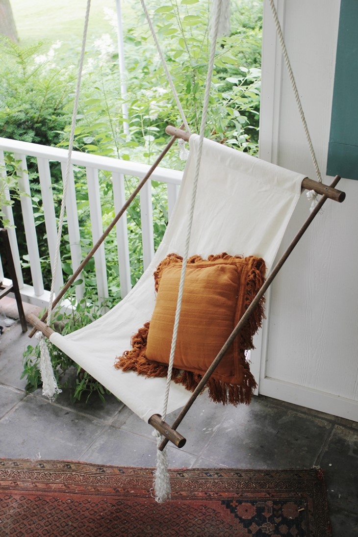 DIY Mother's Day Gifts: Hanging Lounge Chair DIY