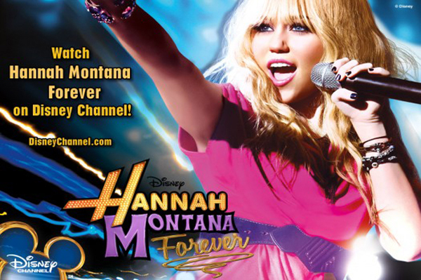 Hannah Montana Forever soundtrack in stores Tues. Oct. 19