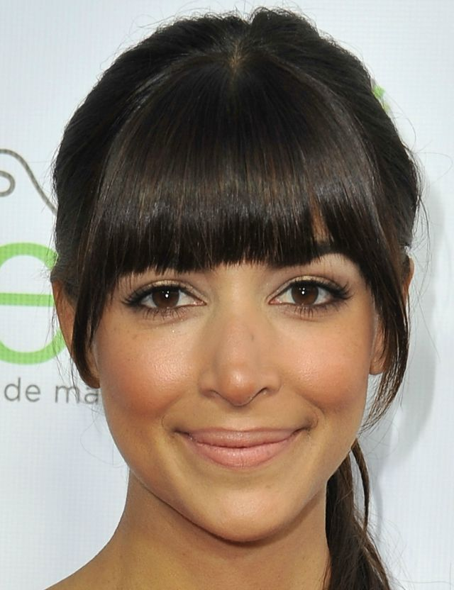 Day-to-evening eyeliner on Hannah Simone