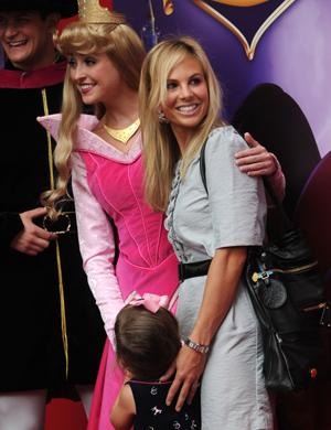 Elisabeth at the Disney Sleeping Beauty DVD premiere