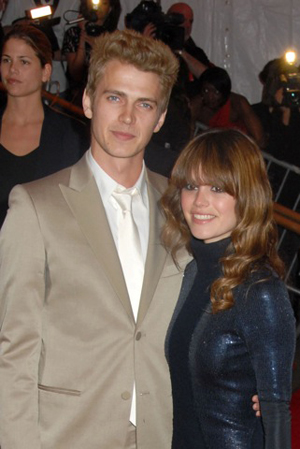 Hayden Christenson and Rachel Bilson