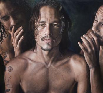 Heath Ledger's last portrait