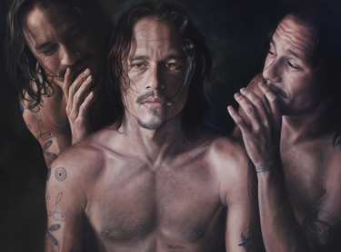 The final image of actor Heath Ledger