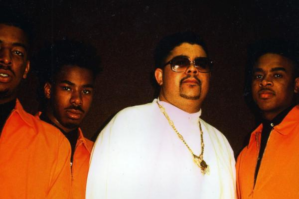 Heavy D, back in the day