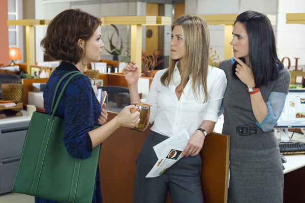 Gennifer Goodwin, Jennifer Aniston and Jennifer Connelly discover He's Just Not That Into You