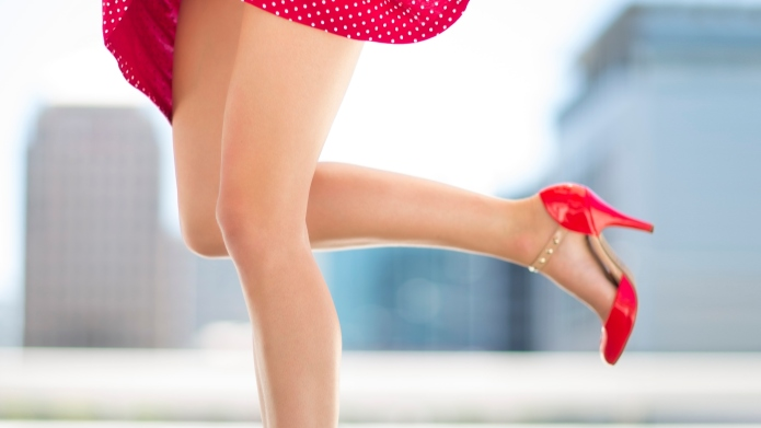 High heels cause more than 100,000