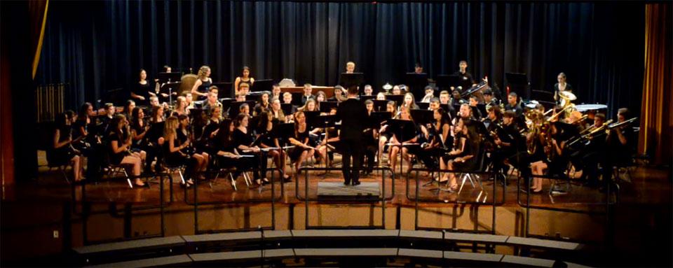 high school's theatre and concert programs