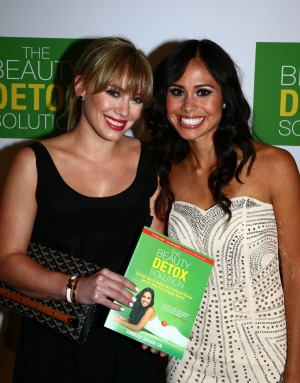 Hilary Duff and Kimberly Snyder