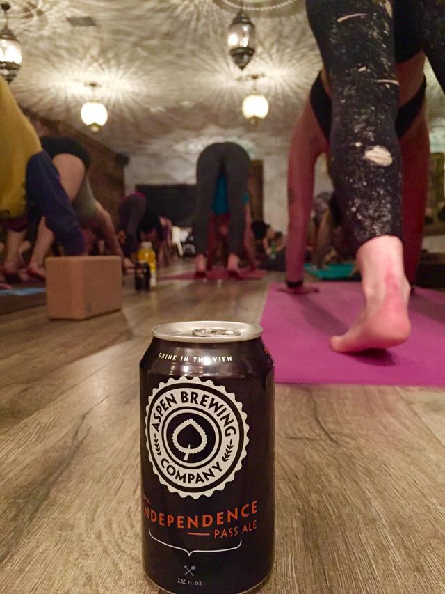 Hip Hop And Beer yoga – Aspen, Colorado