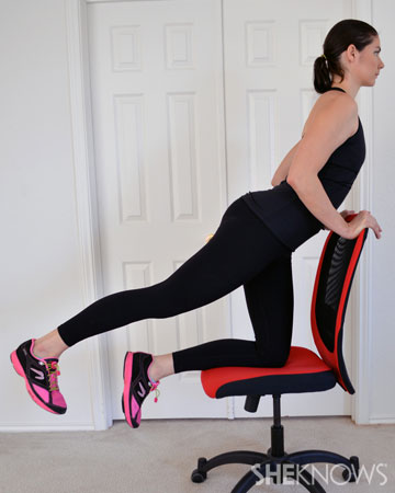 Astounding Leg Exercises You Can Do From Your Office Chair Sheknows Gmtry Best Dining Table And Chair Ideas Images Gmtryco