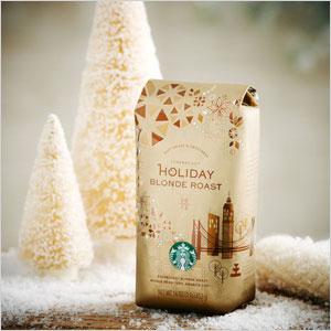 Starbucks Christmas Blend Blonde Roast
