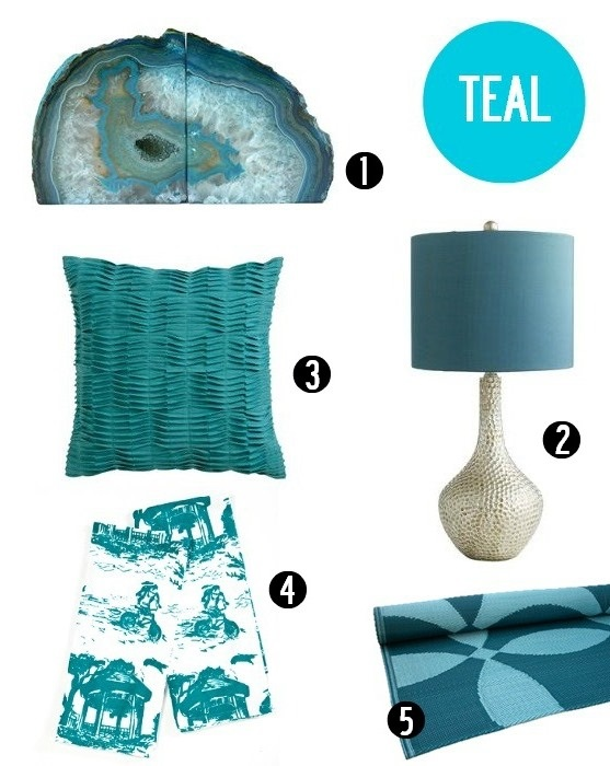 Delightful Teal Decor