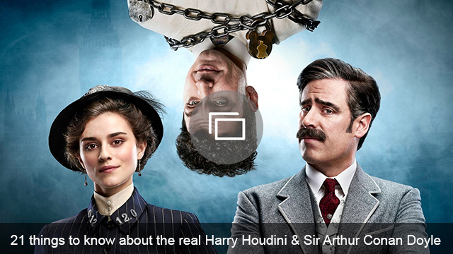 Houdini and Doyle slideshow