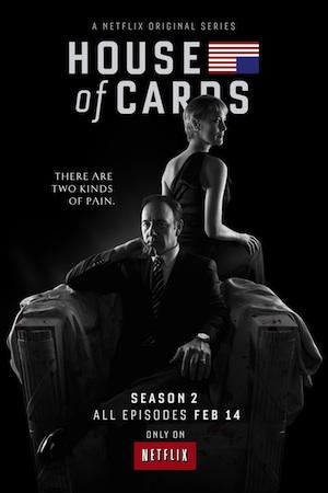 House of Cards Season 2 premieres Feb. 14 on Netflix