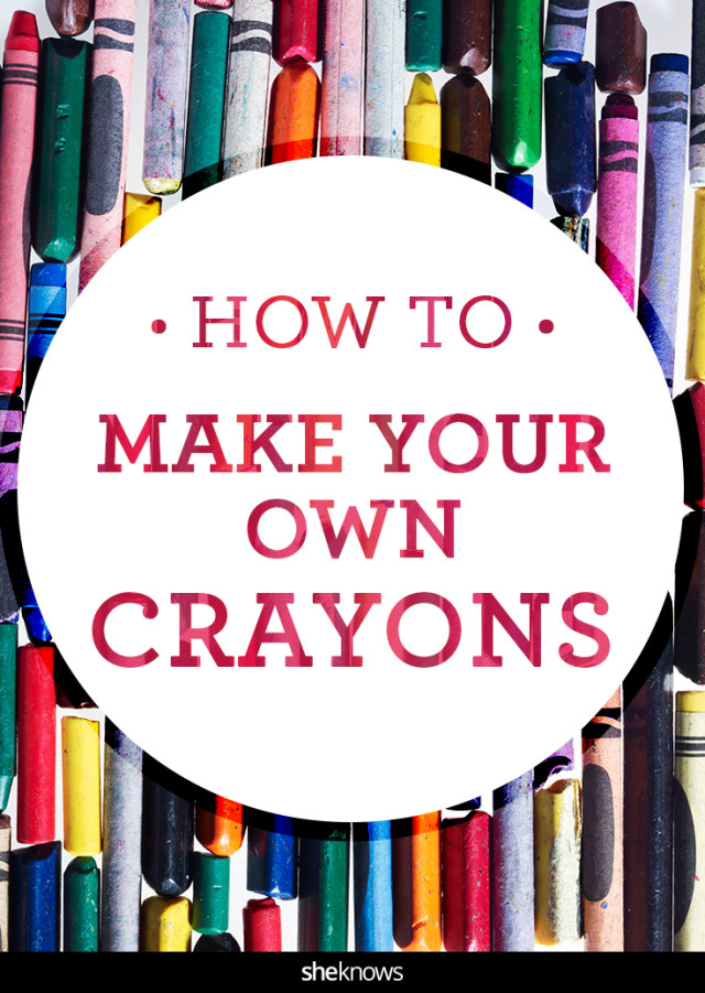 How to make your own crayons