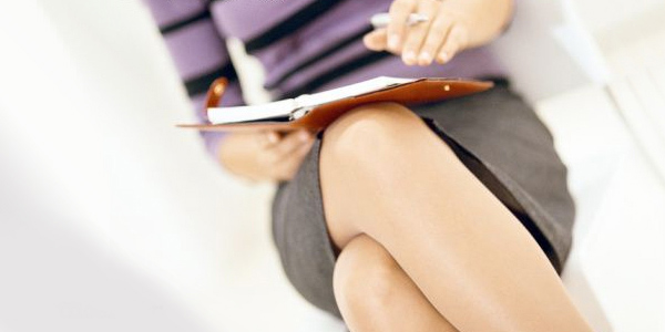 woman with day planner