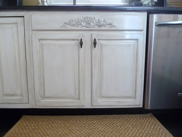 How To distress your kitchen cabinets