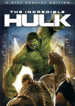 The Incredible Hulk DVD is out now!