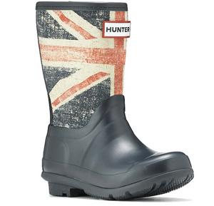 Union Jack rainboots