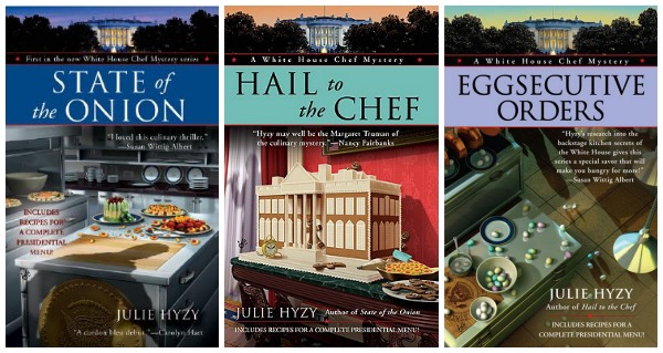 Hyzy White House Chef books