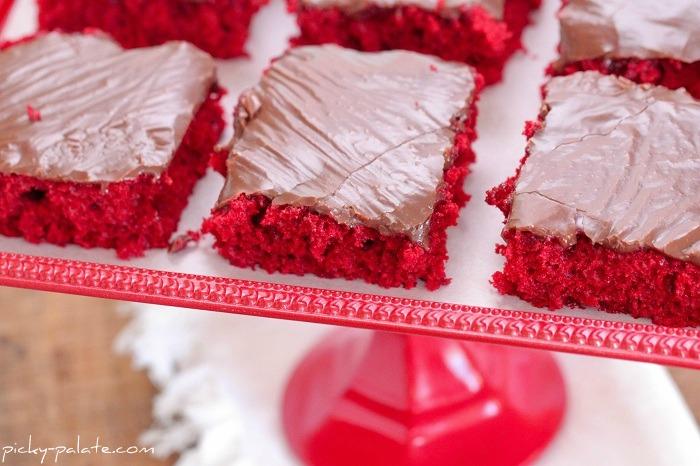 sheet cake nutella