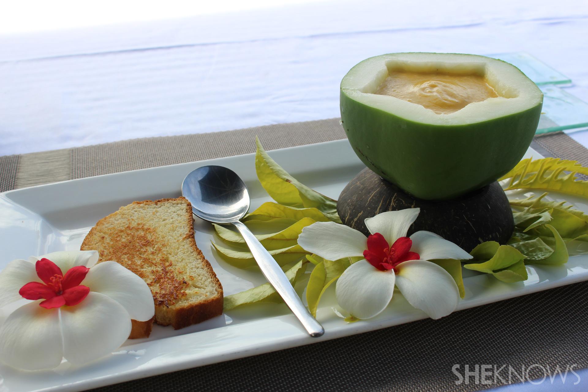 Papaya soup recipe