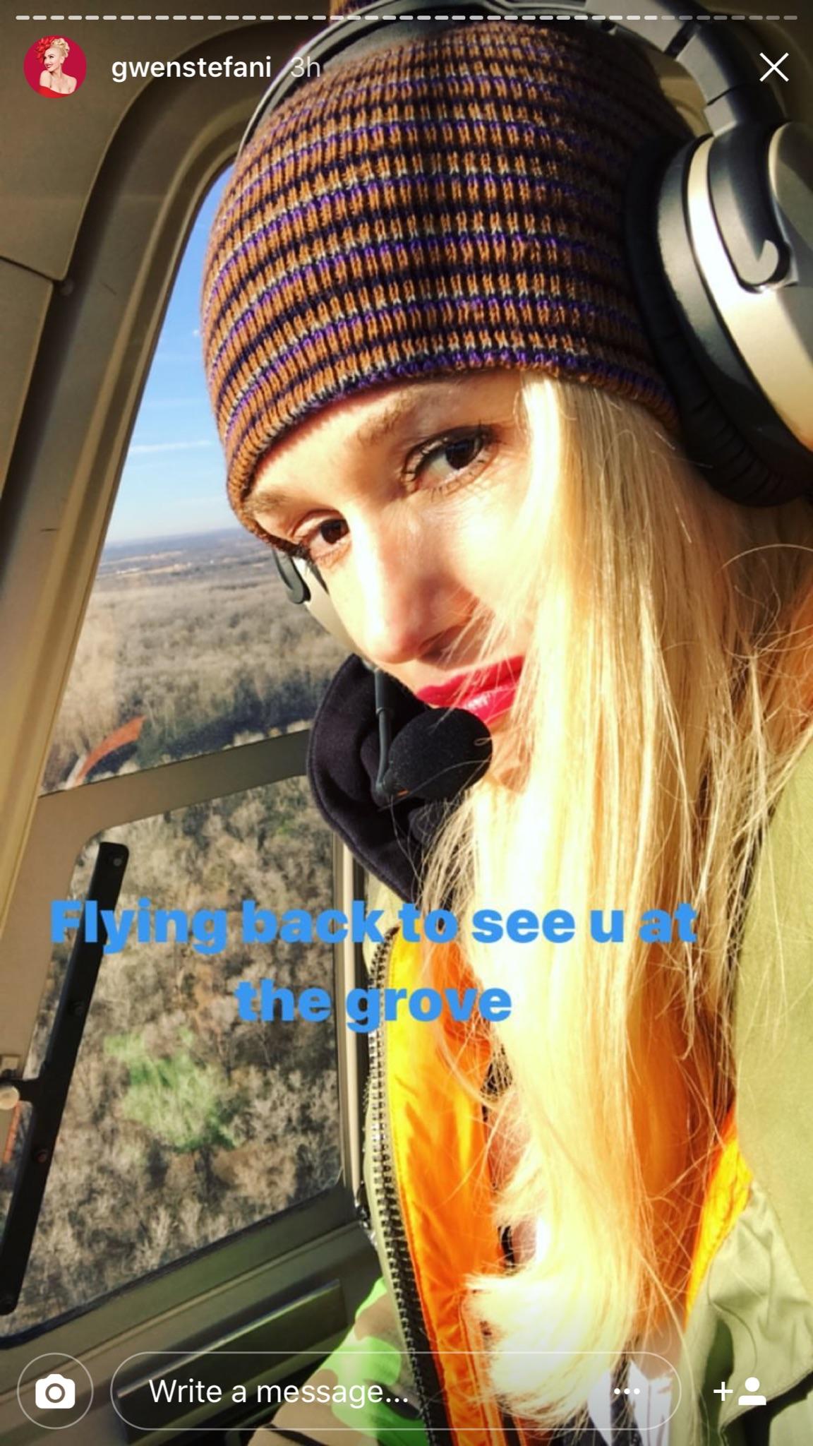Gwen Stefani shows off her family Thanksgiving celebration on Instagram