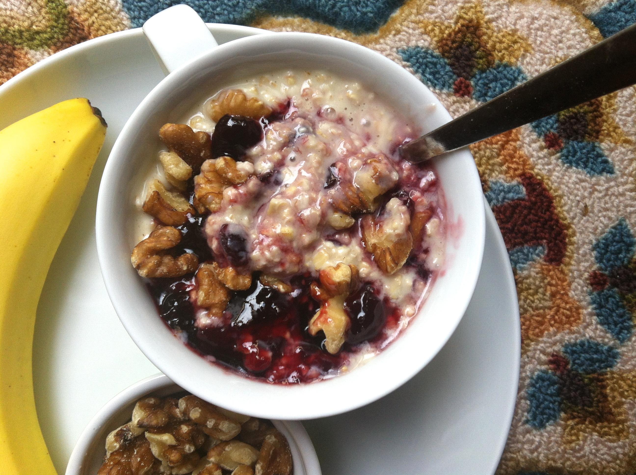 cherry oatmeal