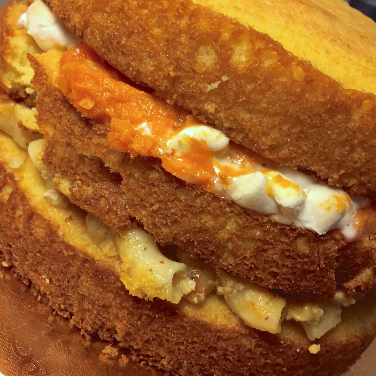cornbread layer cake Bree's Cakes