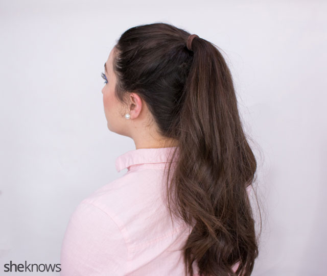 The ponytail hairstyle trick 5
