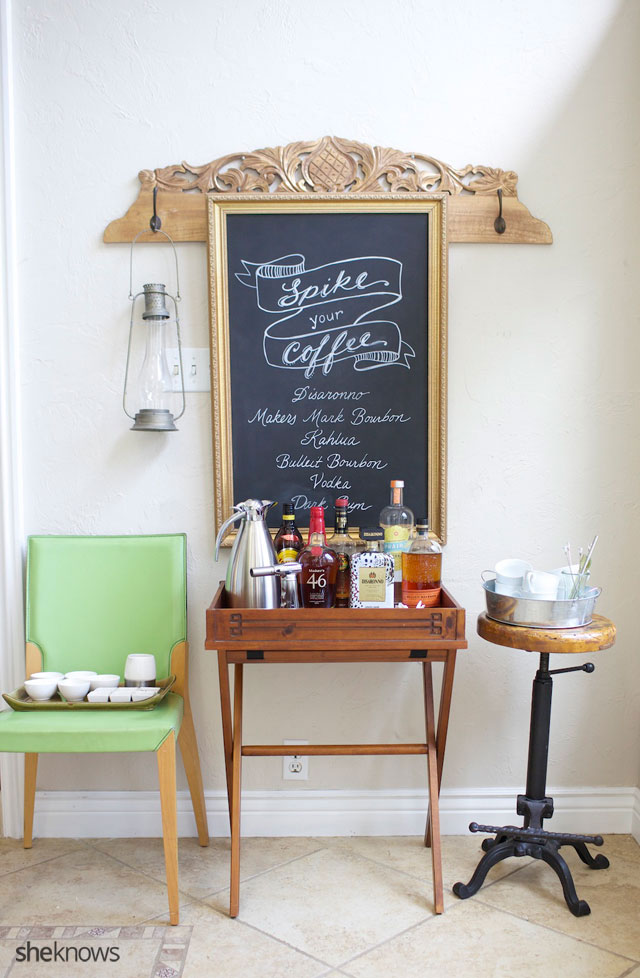 This DIY spiked coffee bar 5