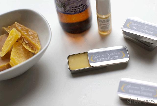 Beeswax Solid Perfume Recipe 2