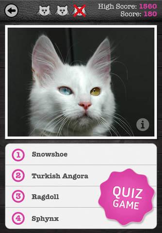 Cat breed app